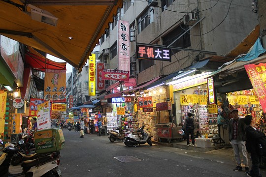 Still early at the night market...