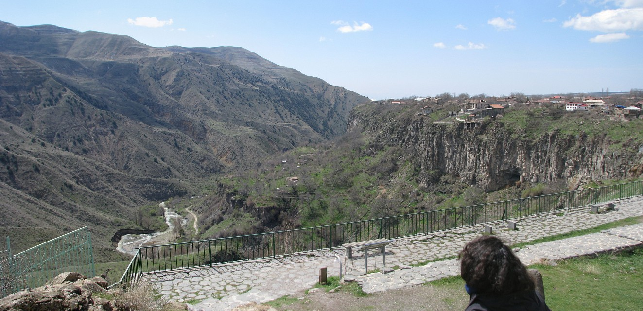 View from Garni temple - Temple of Garni