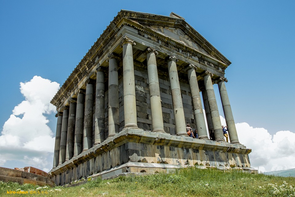 Get the Greeks to Armenia - Temple of Garni