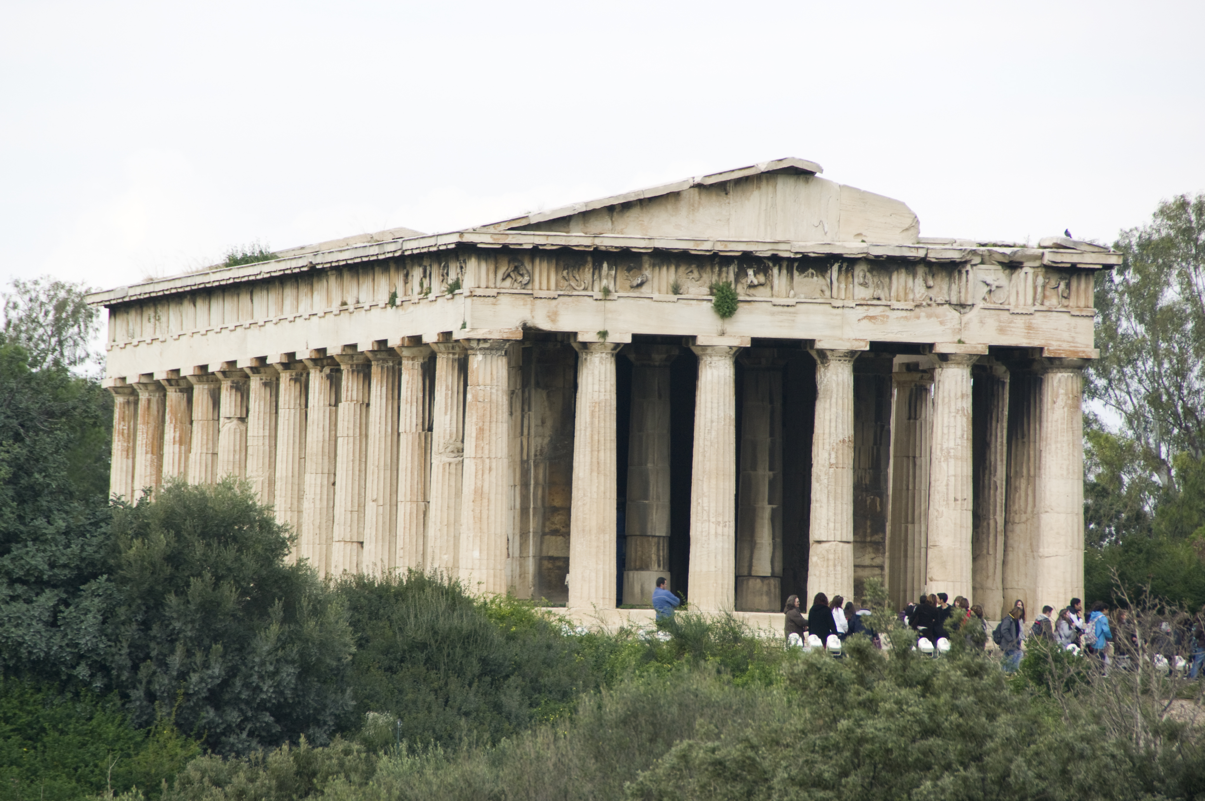 Temple of Hephaestus - Temple in Athens - Thousand Wonders