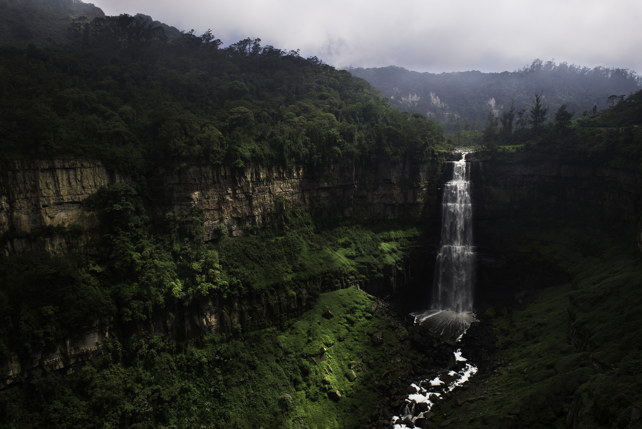 Tequendama Falls Waterfall In Colombia Thousand Wonders