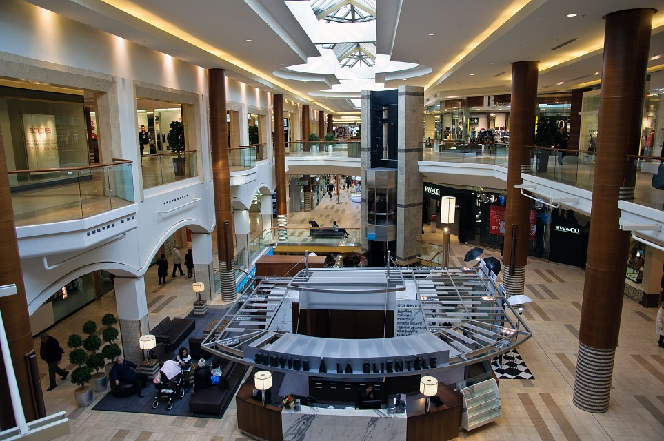 Shopping day - The CORE Shopping Centre