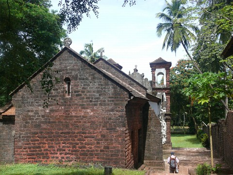 The Chapel of St Catherine, Old Goa