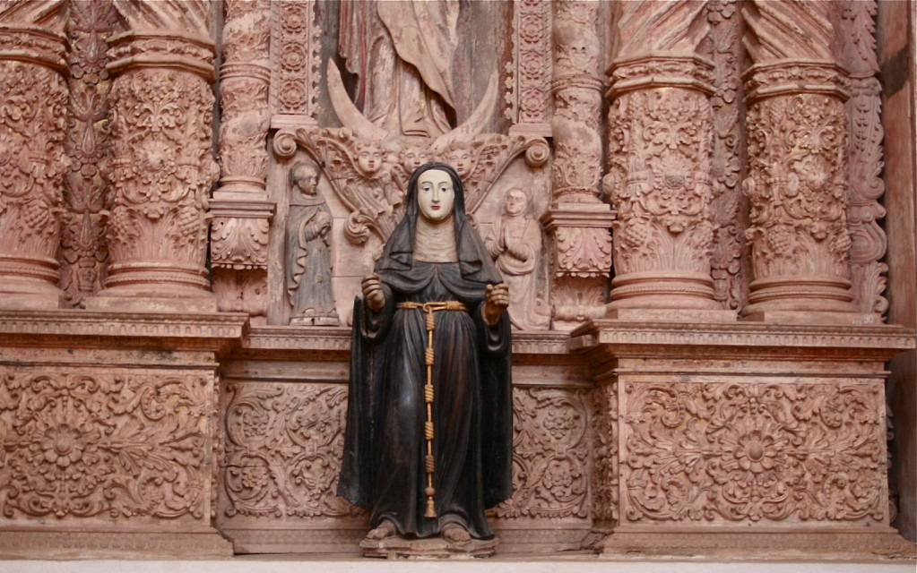 Mother Mary - The Church of St. Francis of Assisi