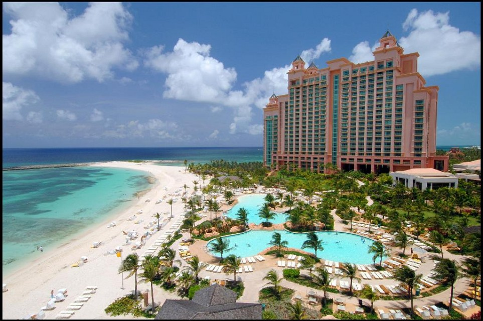The Cove Atlantis. Hotel in Atlantis Paradise Island, Bahamas