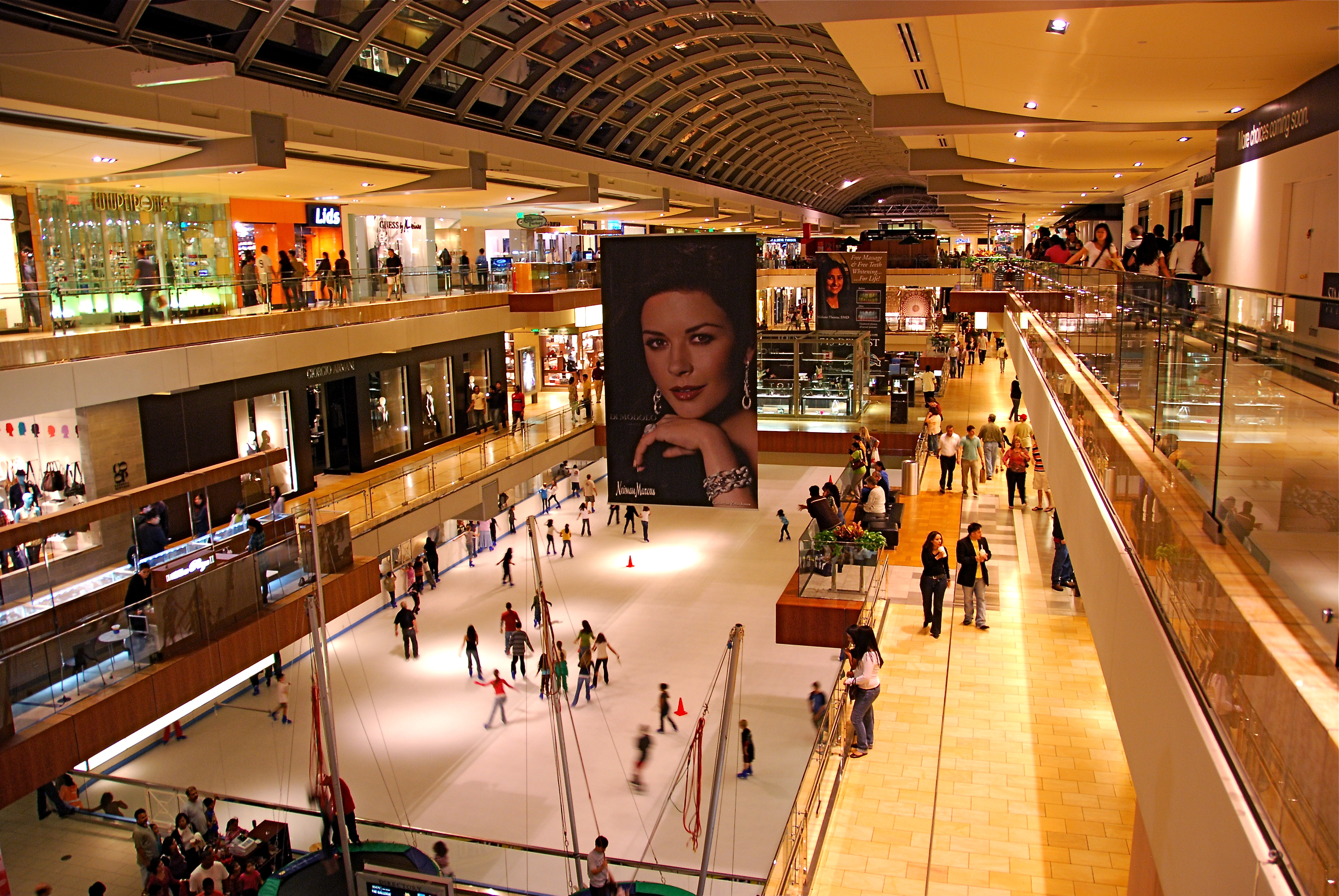 The Galleria Shopping Mall In Houston Thousand Wonders
