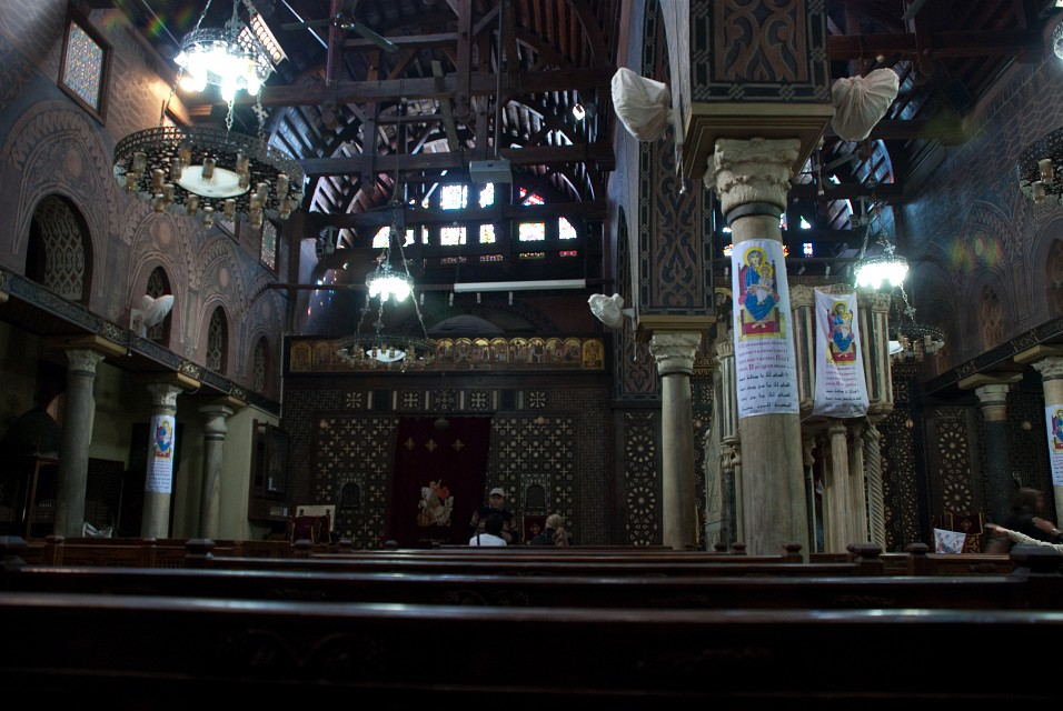 Hanging Church in Coptic Cairo - The Hanging Church