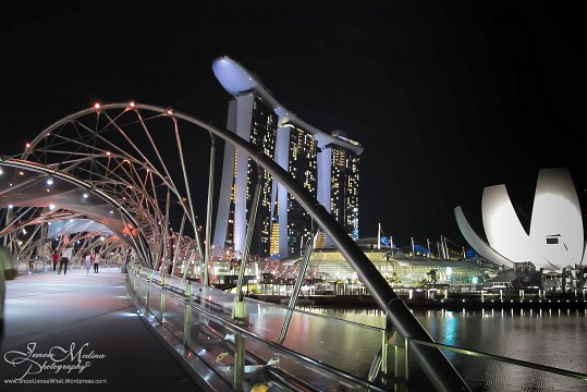 Helix Bridge, Singapore - The Helix Bridge