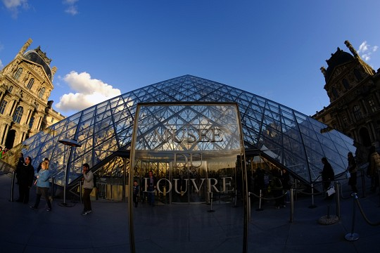 - The Louvre