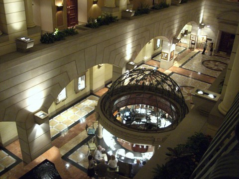 View from the second floor - The