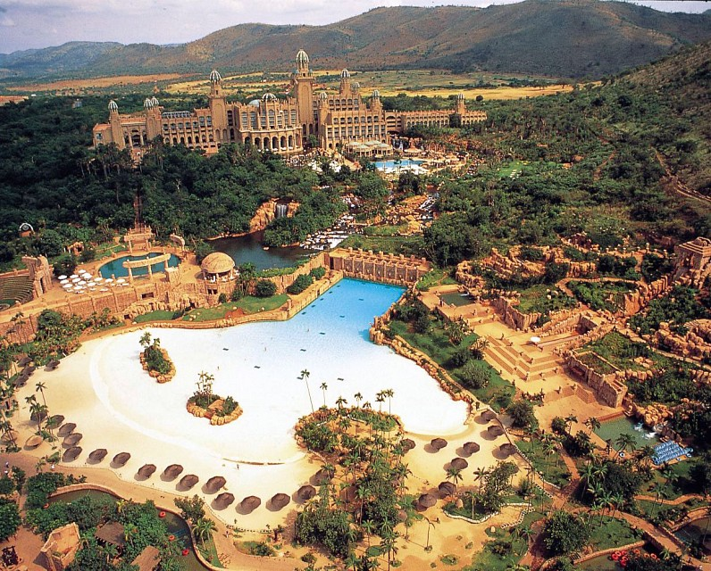The Palace Of The Lost City >> The Palace Of The Lost City At Sun City Resort Hotel In South