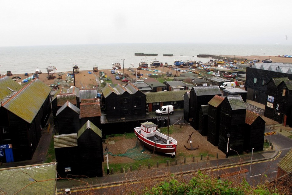 The Stade, Hastings - The Stade