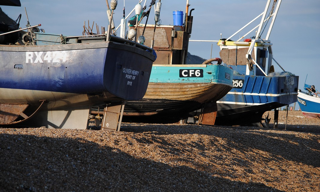 Fishing Boats - Hastings - The Stade