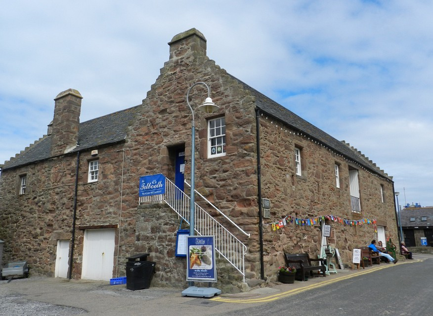 Stonehaven Tolbooth and Restaurant, Stonehaven, June 2014 - The Tolbooth