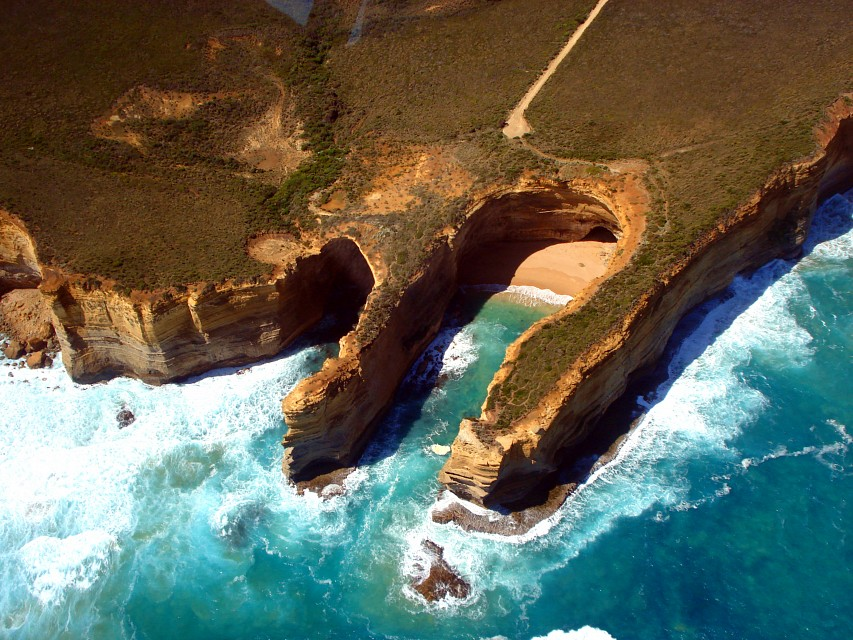 Twelve Apostles Helicopter Flight - The Twelve Apostles