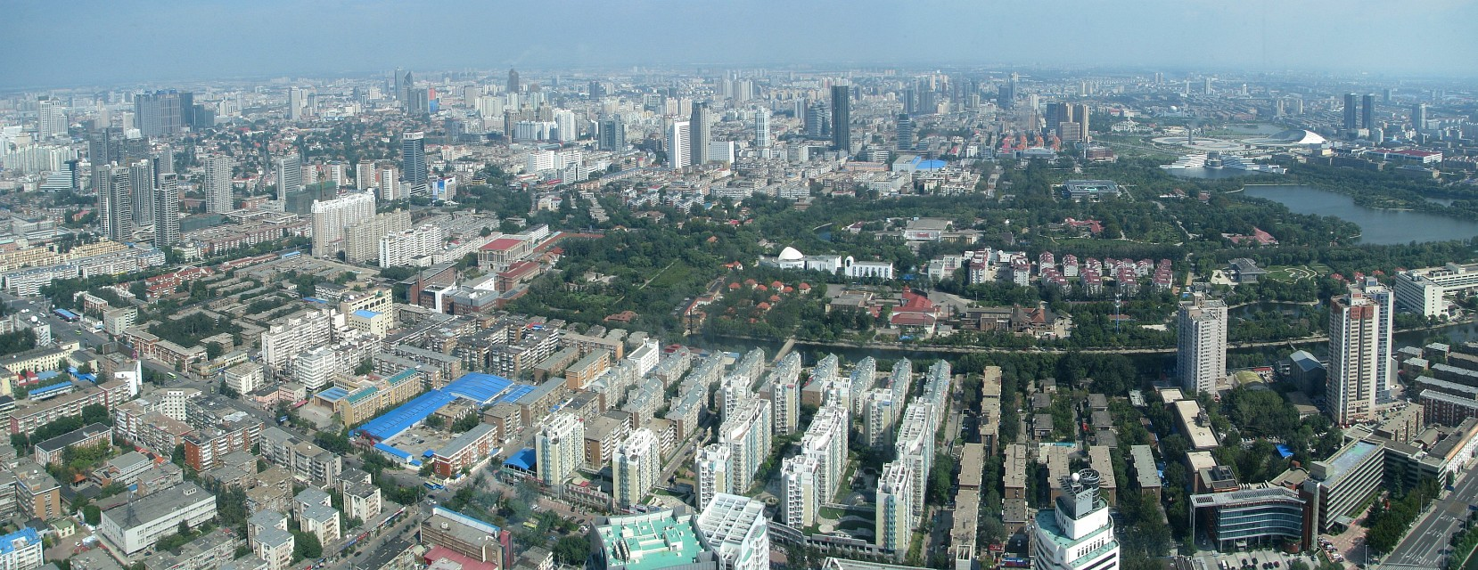 Tianjin from Tianjin Radio and Television Tower - Tianjin