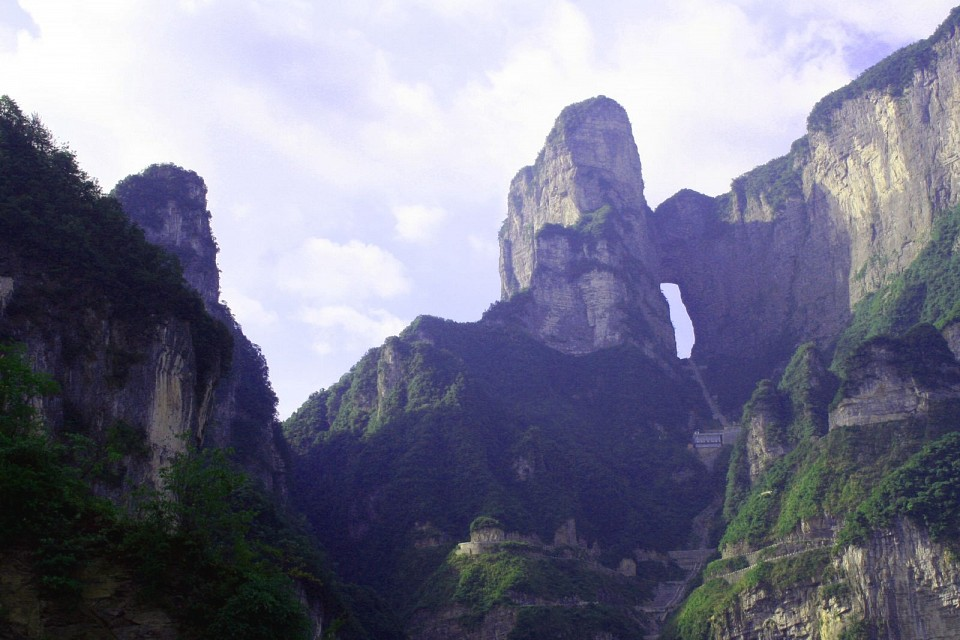 Tianmen - Tianmen Mountain National Park