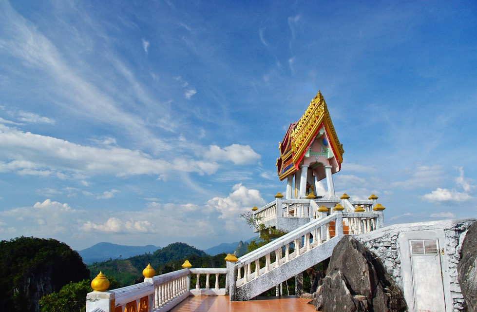 A view to behold - Tiger Cave Temple