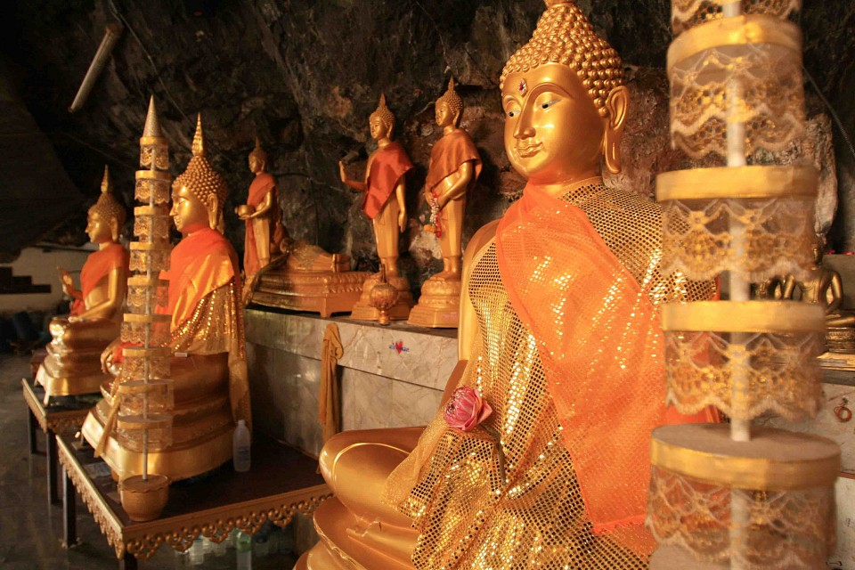 Buddhas - Tiger Cave Temple