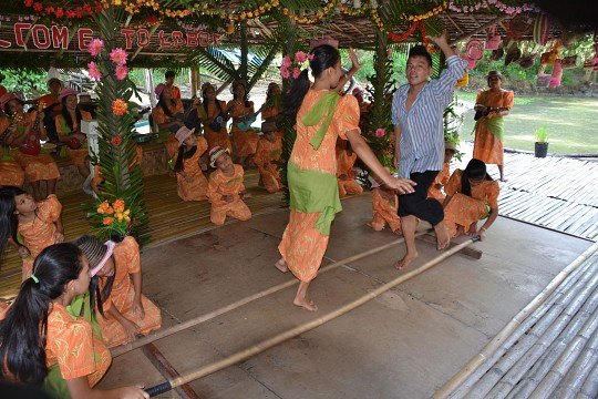 Tinikling - The bamboo pole