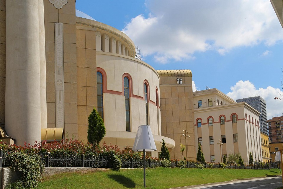 new build orthodox cathedral of Tirana - Tirana
