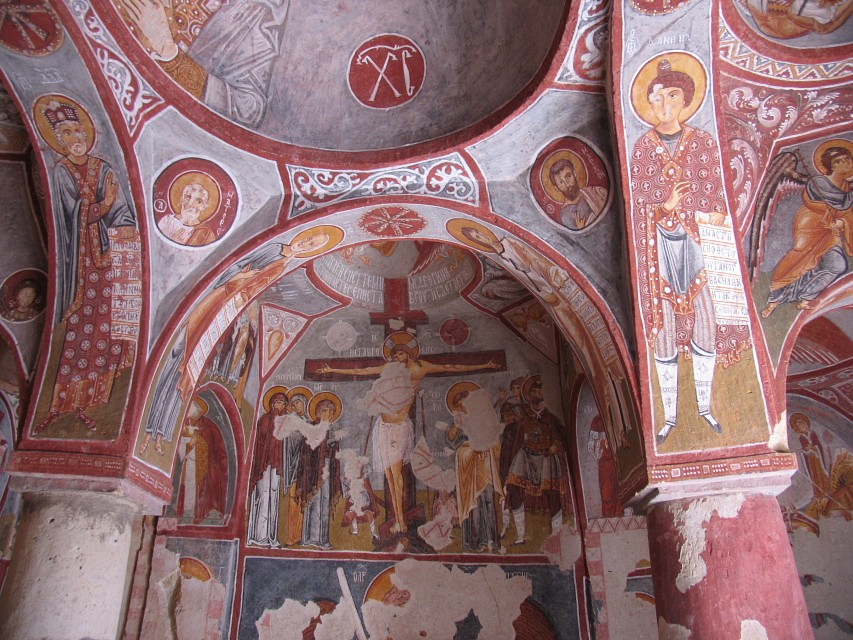 Apple Church Fresco - Tokalı Kilise