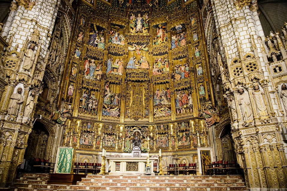 Altar - Toledo Cathedral