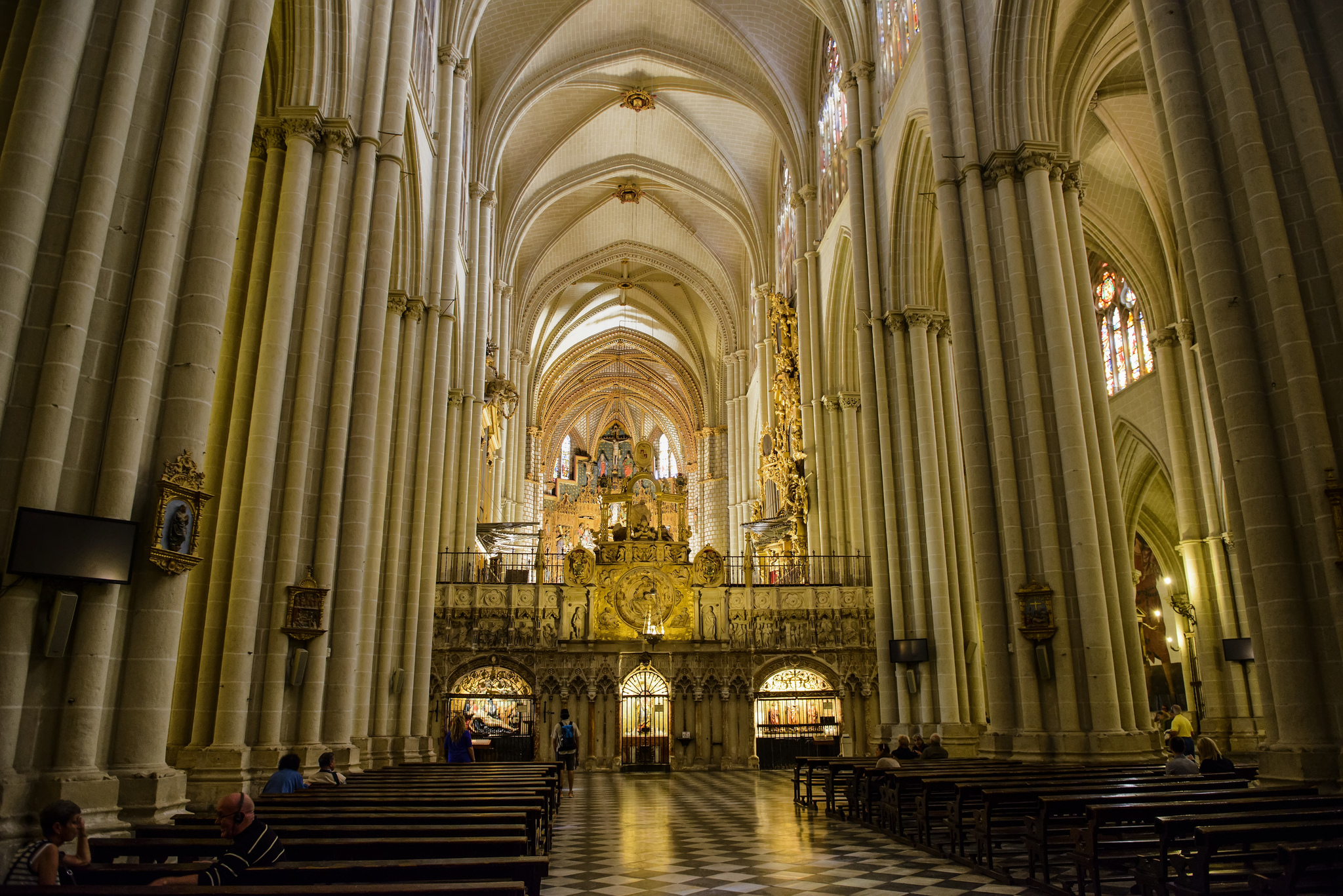 Toledo Cathedral Church In Toledo Thousand Wonders