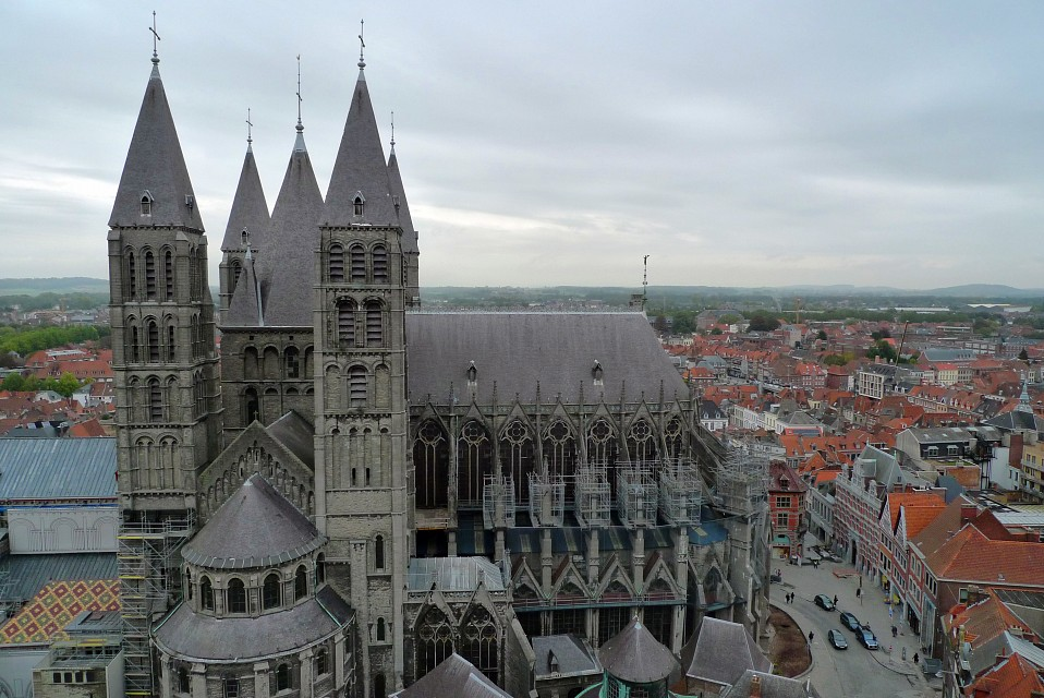 Tournai, Belgium - Tournai Cathedral