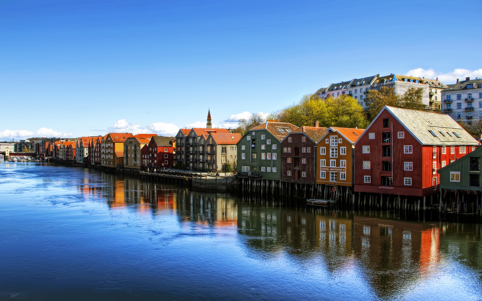 Trondheim - Town in Norway - Sightseeing and Landmarks ...