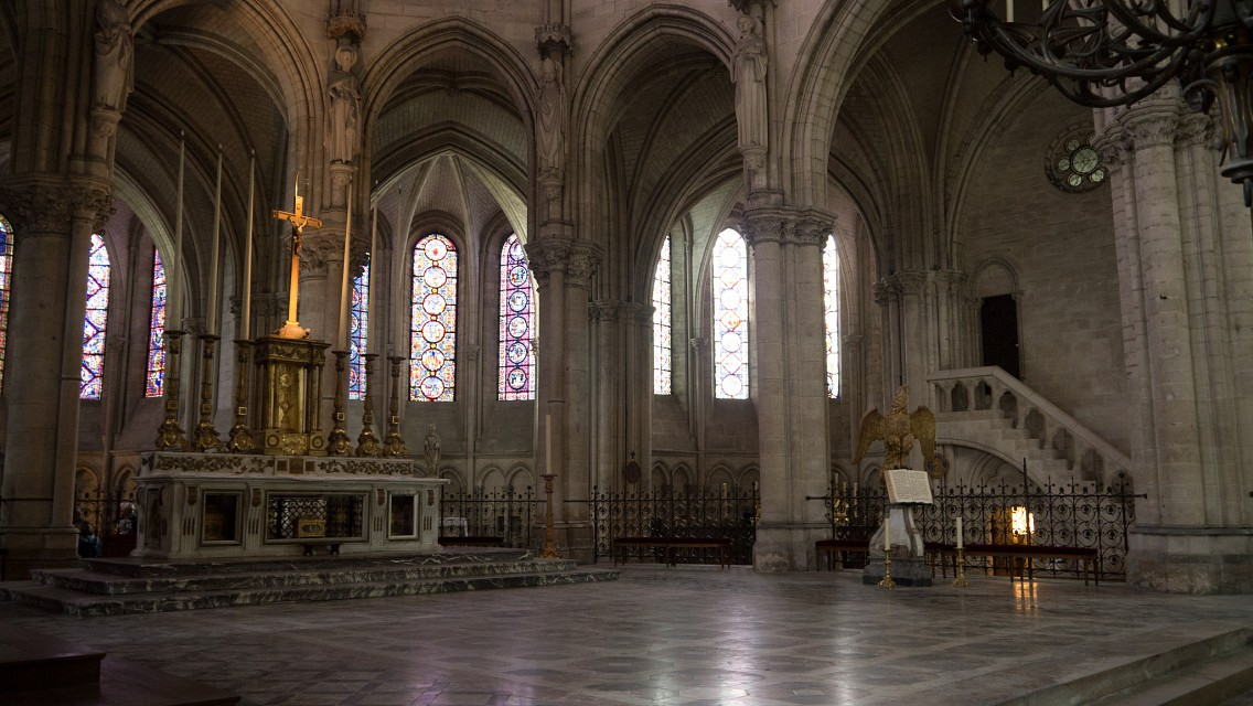 Ancien altar at Troyes cathedral - Troyes Cathedral