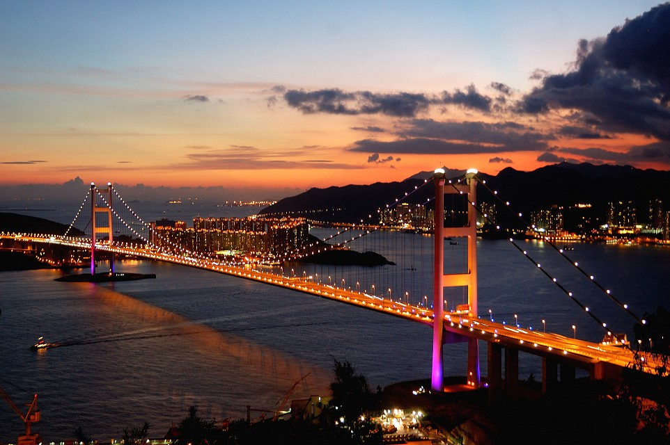 Sunset - Tsing Ma Bridge