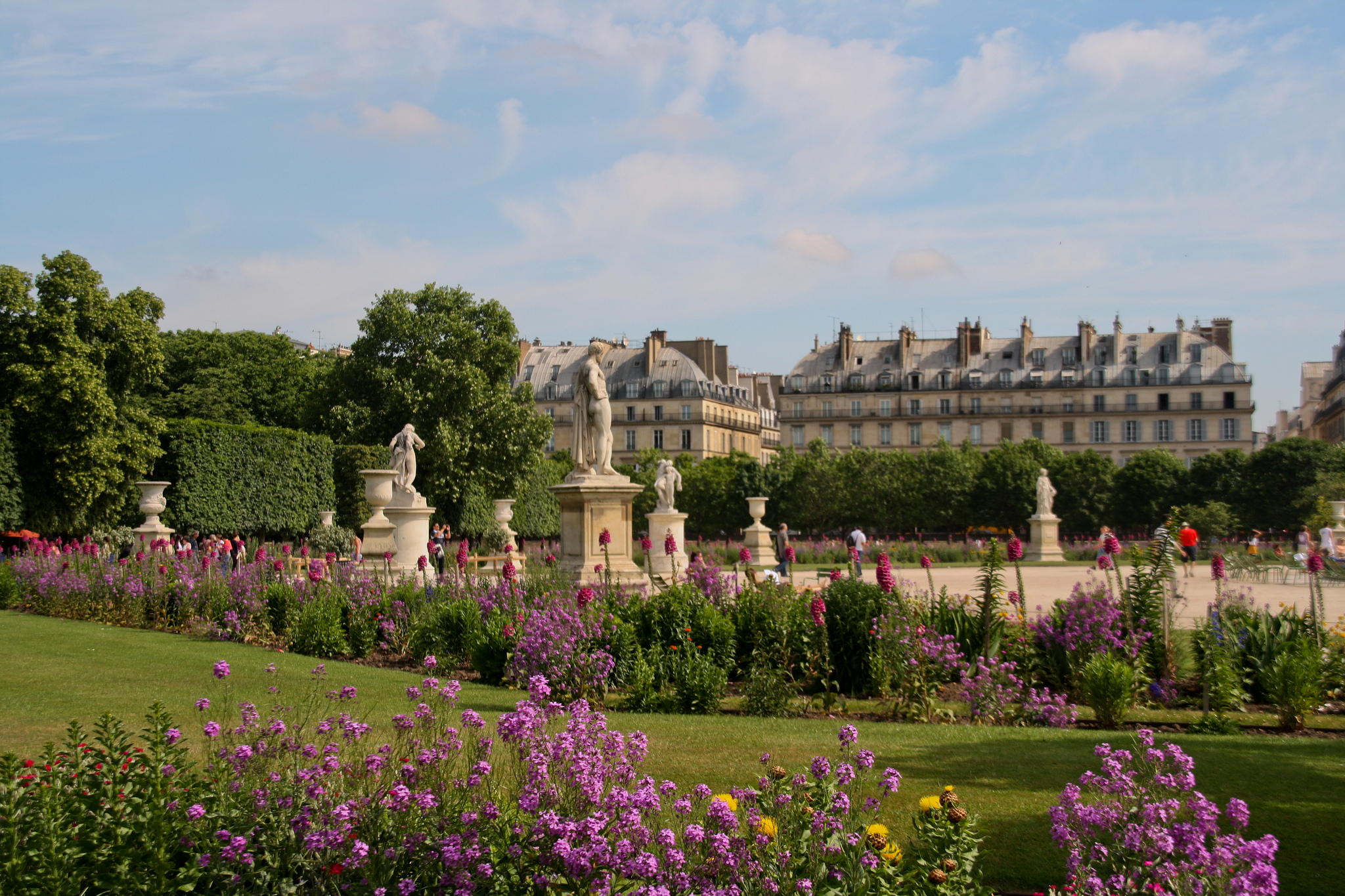 Tuileries Garden - Urban Park In Paris