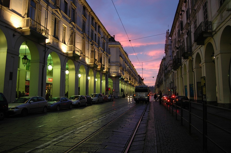 green and pink - Turin