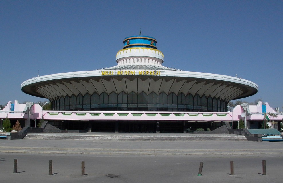 Circus building, but no circus allowed - Turkmen State Circus