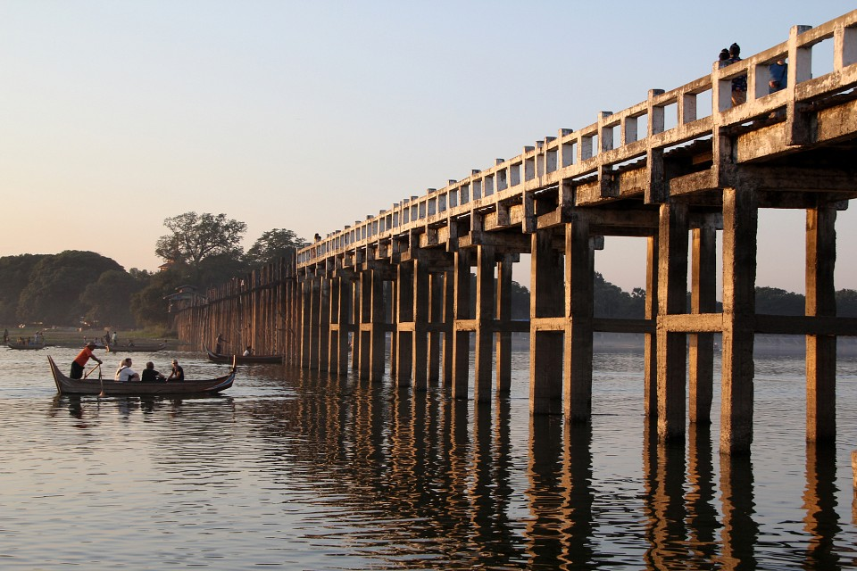 U Bein Bridge - U Bein Bridge
