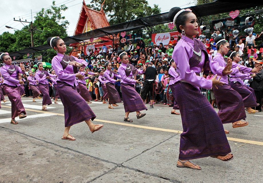 The Ubon Ratchathani Candle Festival Parade