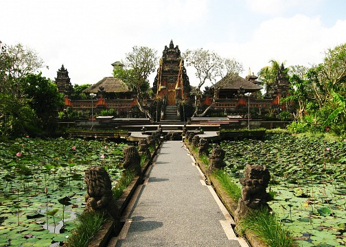 Puri Saren Royal Palace - Ubud