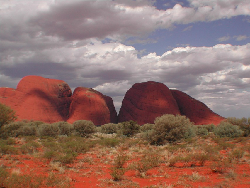 The Olgas (Kata Tjuta) - Uluṟu-Kata Tjuṯa National Park