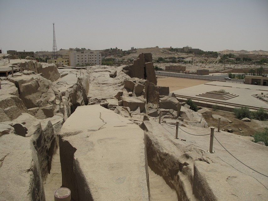 Unfinished Obelisk, Aswan - Unfinished obelisk