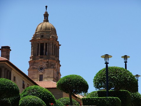 The Union Buildings, the official seat of the South African governement - Union Buildings