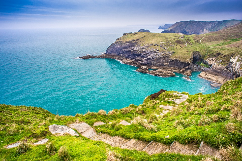 Tintagel Castle, Cornwall, United Kingdom - United Kingdom