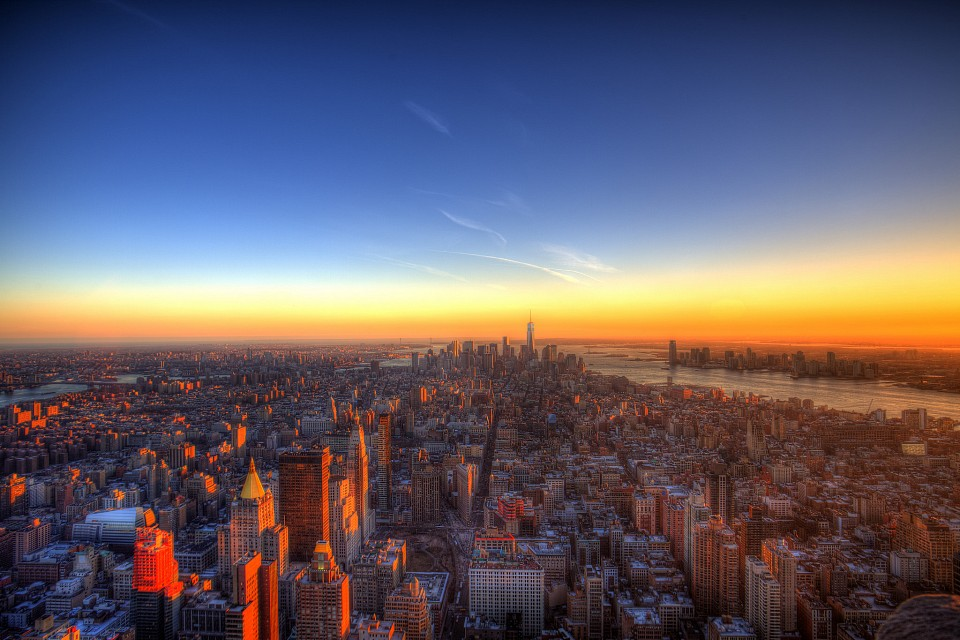 New York City Sunset - United States