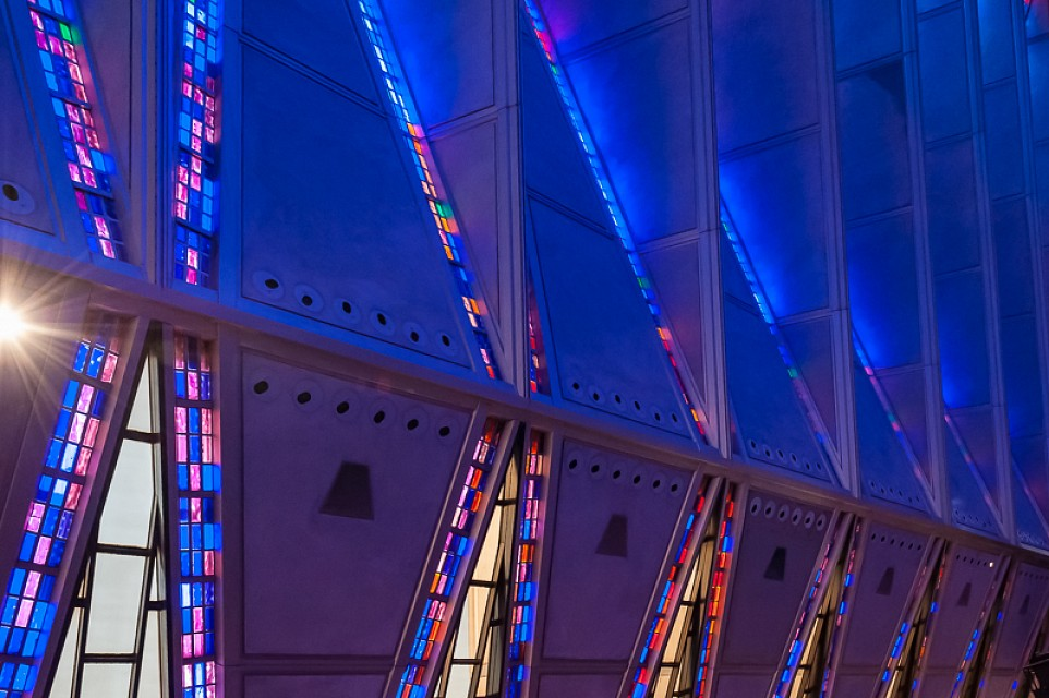 Academy Cadet Chapel, Colorado Spring, CO - United States Air Force Academy Cadet Chapel