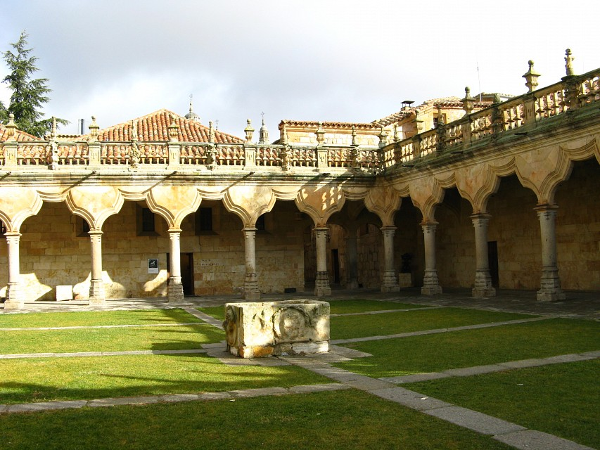 Courtyard of the Universidad de Salamanca - University of Salamanca