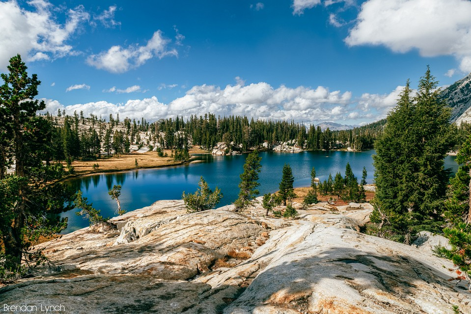 Cathedral lakes ii - Upper Cathedral Lake