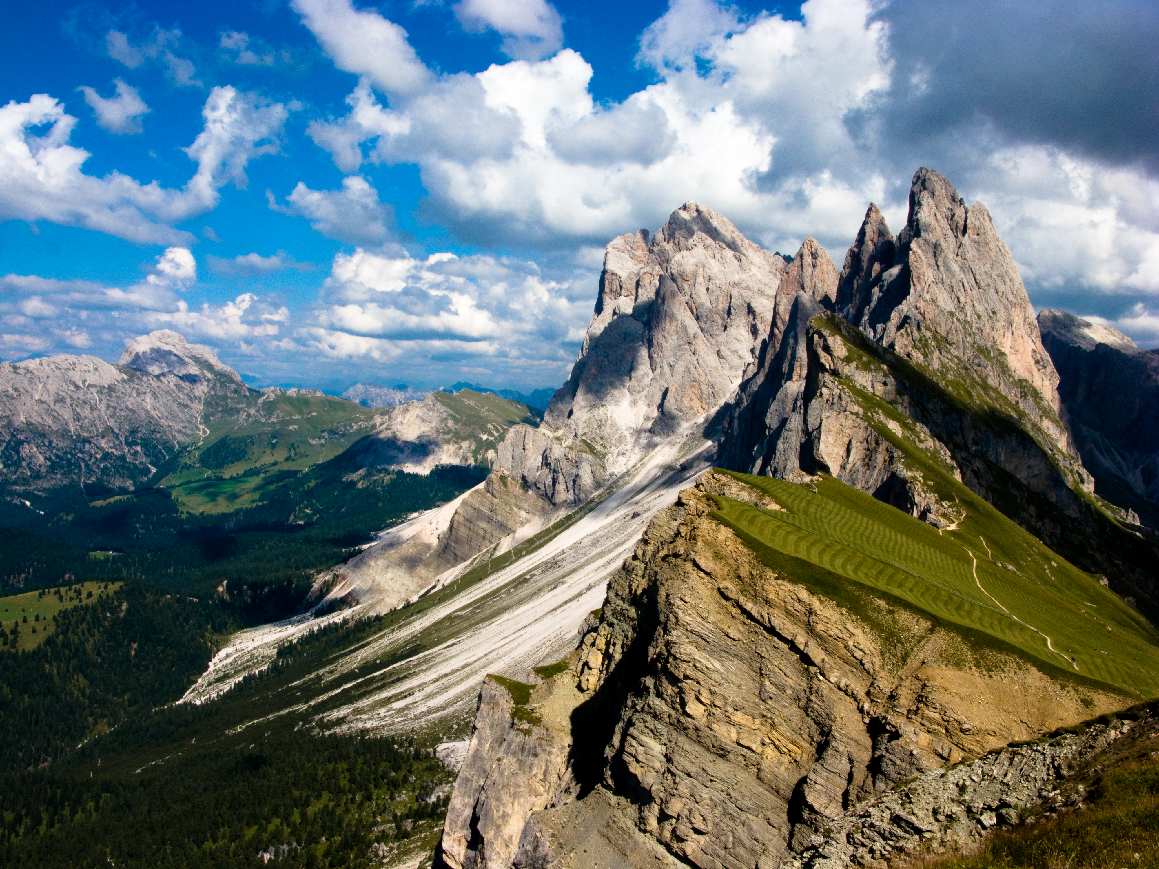 Val Gardena Valley in Italy Thousand Wonders