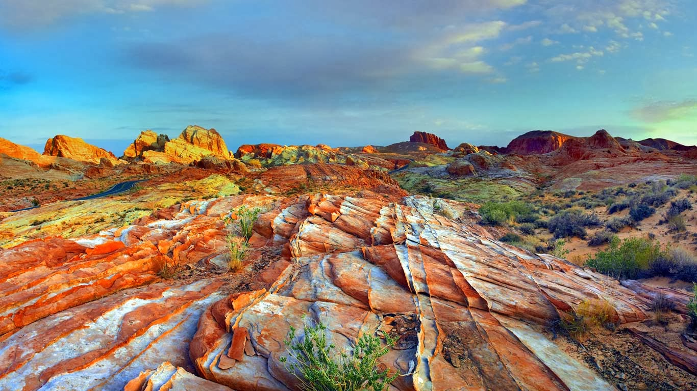 Valley Of Fire State Park Valley In Nevada Thousand Wonders