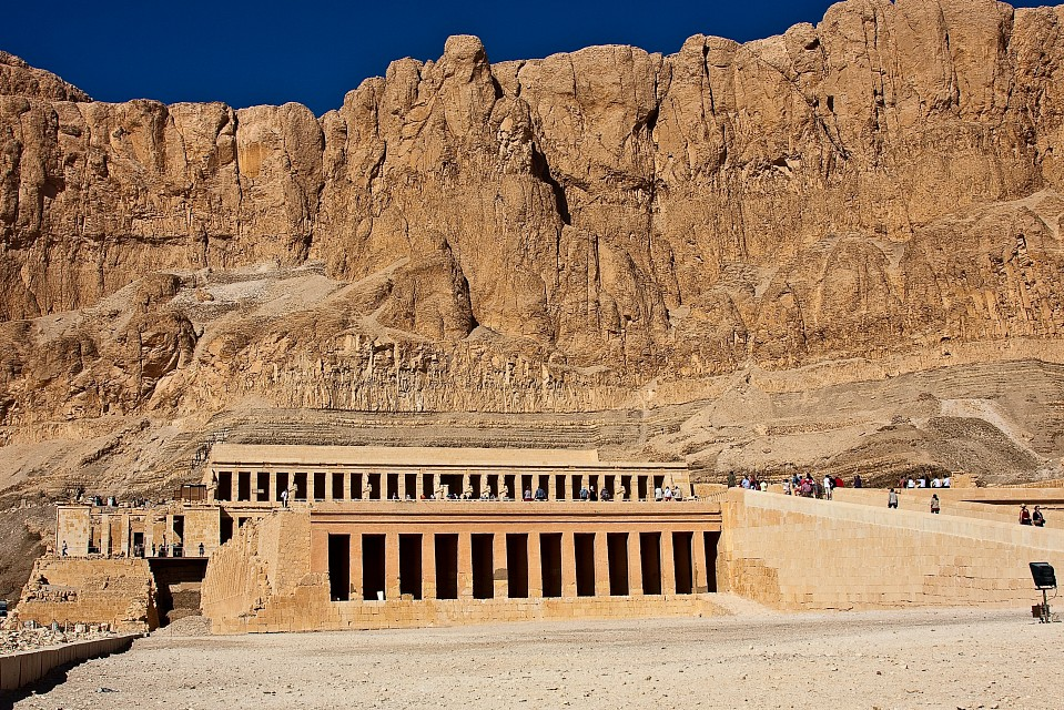 Hatshepsut temple in the Valley of the Kings - Valley of the Kings