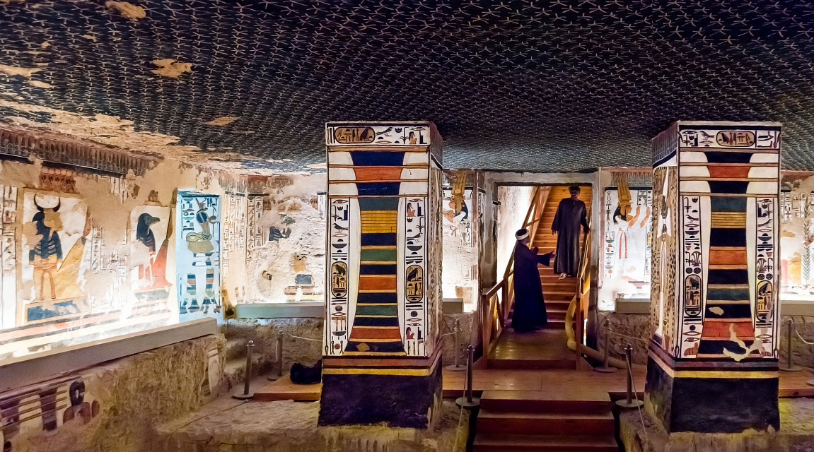 Tomb of Nefertari, QV66, Valley of the Queens - Valley of the Queens